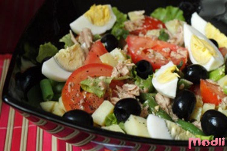 салат с консервированным тунцом рецепты с фото