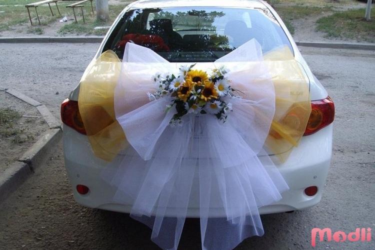 Украшаем свадебные машины своими руками фото