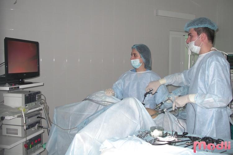 Процедура лапараскопии
