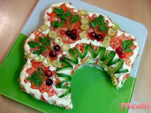 Русская красавица - салат