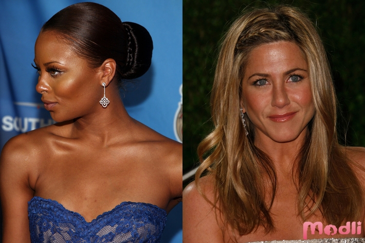 Eva Marcille и Jennifer Aniston