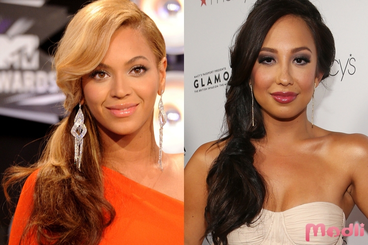 Beyonce и Cheryl Burke